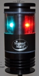 2NM LED Bi-Color Navigation Light with Adjustable Bracket by Signal Mate (Misea Group)