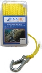 Hollow Braid Poly-Pro Anchor Line with Snap by Sea-Dog
