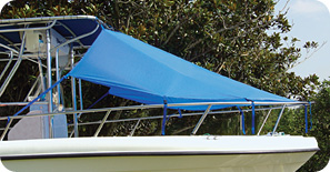 SBS    Bimi-Tee Tops, T-Top Bow Boat Shade, Universal T-Top Center