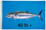 Taylor Made Products Carey Chen King Mackerel 40 Offshore Boat Flag